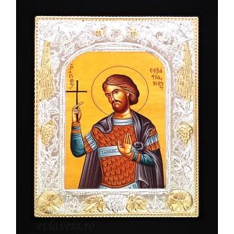 Icoana 19X24 cm Sfantul Sebastian
