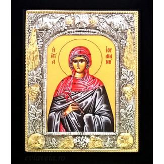 Icoana 19 X 24 cm Sfanta Mucenita Iuliana