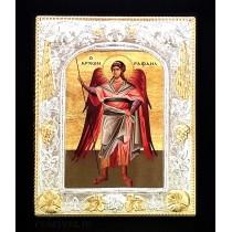 Icoana 19 X 24 cm Sfantul Arhanghel Rafail