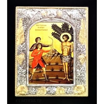Icoana 19 X 24 cm Sfantul Sebastian