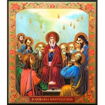 Icoana 20.5X24.5 cm Pogorarea Sfantului Duh
