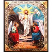 Icoana 20.5x24.5 cm Invierea Domnului