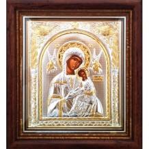 Icoana Argintata 17X16 cm Maica Domnului Izbavitoarea