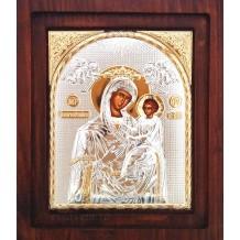 Icoana Argintata 20X16.5 cm Maica Domnului Grabnic Ascultatoare