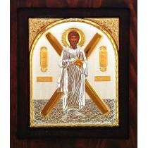 Icoana Argintata 20X16.5 cm Sfantul Apostol Andrei