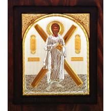 I10 - Icoana Argintata 20X16.5 cm Sfantul Apostol Andrei