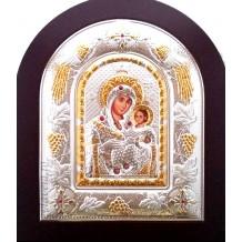 Icoana Argintata 22x18 cm - Maica Domnului Betleem