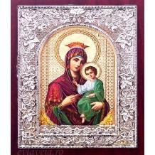 Icoana Maica Domnului cu Pruncul 10.5x13 cm