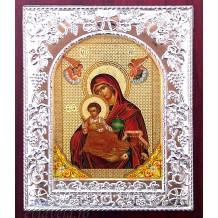 Icoana Maica Domnului cu Pruncul 14x17 cm
