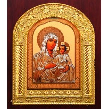 Icoana B1-14x17 cm Maica Domnului  Ierusalim