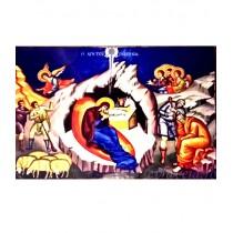 Iconita Plastifiata Nasterea Domnului