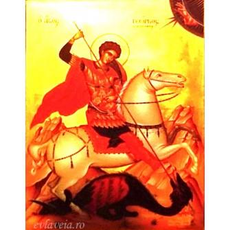 Iconita Plastifiata Sfantul Mucenic Gheorghe