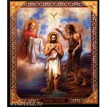 Icoana Botezul Domnului 10 X 12 cm