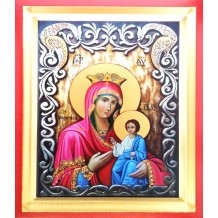 Icoana Pictata 19X25 cm Maica Domnului
