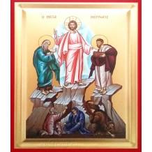 Icoana Pictata 19X25 cm Schimbarea la Fata a Domnului