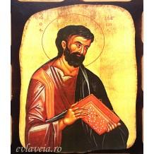 I4 - Icoana Pirogravata 16X21 cm - Sfantul Apostol Marcu