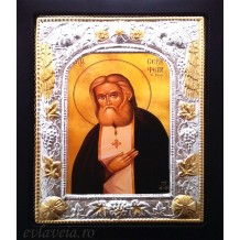 Icoana 19X24 cm - Sfantul Cuvios Serafim de Sarov