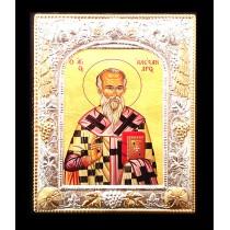 D10 - Icoana 19X24 cm Sfantul Ierarh Alexandru