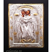 E19 - Icoana cu Rama Neagra 19X24 cm - Sfintii Apostoli Petru si Pavel
