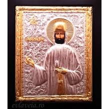 E6 - Icoana 19X24 cm - Sfantul Mucenic Efrem cel Nou