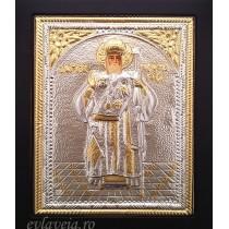 I33 - Icoana 19X24 cm - Sfantul Ierarh Nectarie