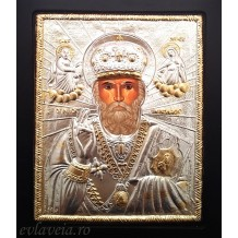 E7 - Icoana 19X24 cm - Sfantul Ierarh Nicolae