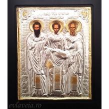 Icoana 19X24 cm - Sfintii Trei Ierarhi