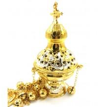 Cadelnita aurita si argintata 10 X 23 cm