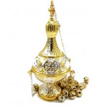 Cadelnita aurita si argintata 13 X 30 cm