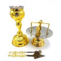 Sfinte Vase Aurite