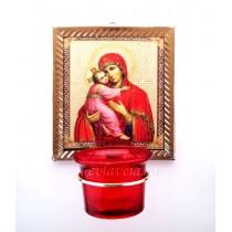Candela de perete - Maica Domnului cu Pruncul