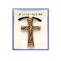 Colier Cruciulita Metalica Ierusalim