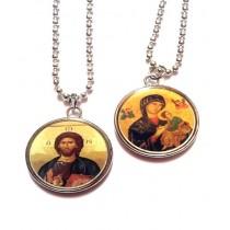 Lantisor cu medalion 2.5 cm