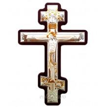 Cruce de perete Argintata / Aurita 15x23 cm